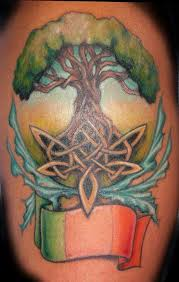 celtic tree of meaning totem