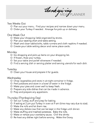 thanksgiving for two menu free printable thanksgiving meal planner the idea room