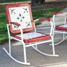 retro metal chair vintage cushions chairs for