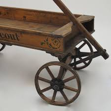 19th century chief scout wooden wagon for sale at 1stdibs