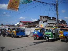 philippine tricycle getting around the calbayog city area texan in the philippines