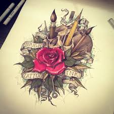 39 best get a copic tattoo images on pinterest board coloring