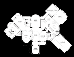 Outdoor Living Floor Plans by Mascord House Plan 2435 The Holden