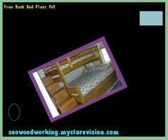 Free Bunk Bed Plans Woodworking by Raised Bunk Bed Plans 104840 Woodworking Plans And Projects