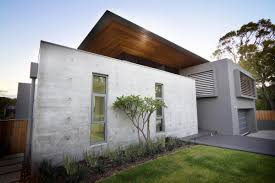 exposed concrete walls the 24 house in dunsborough australia