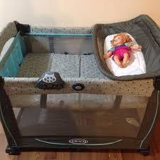 Playpen Bassinet Changing Table Find More Graco Playpen Bassinet Change Table For Sale At Up To 90