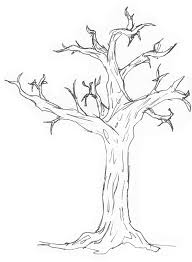 simple drawing of a tree how to draw an easy tree step step trees