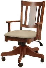 wood desk chair with wheels up to 33 off amish desk office chairs amish outlet store
