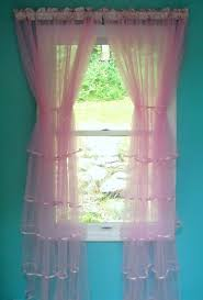 Ruffled Pink Curtains Curtains Hot Pink Curtains Positivefeelings Drapes U201a Sweetness