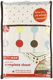Skip Hop Crib Bedding Skip Hop Complete Sheet Mod Dot Discontinued By