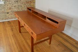 Danish Mid Century Modern Desk by Peter Lovig Nielsen Danish Teak Flip Top Desk Galaxiemodern