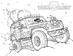 gallery u0027teraflex jeep coloring pages u0027 teraflex