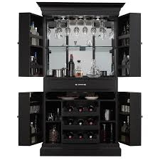 Portable Bar Cabinet Glass Bar Cabinet Designs Home Bar Console Mini Bar With Stools