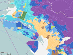 san jose ethnicity map racial diversity musings on maps