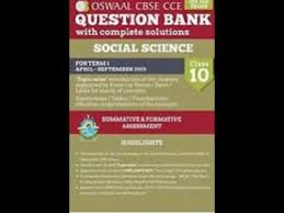 oswaal cbse cce question bank with complete solutions panel of