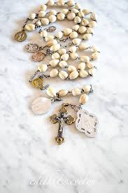 s tears rosary s rosary tears seed rosary medals relic