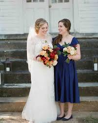 navy blue bridesmaid dresses martha stewart weddings