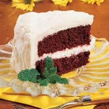 red velvet cake taste of home