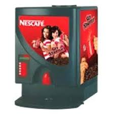 Table Top Vending Machine by Nescafe Vending Machines Nescafe Table Top Double Option Coffee