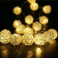 3M 20 LED Decorative String Lights Indoor Outdoor Battery Powered