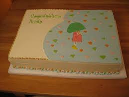 photo edible baby shower cake image