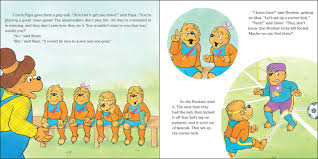 amazon com the berenstain bears play a good game berenstain