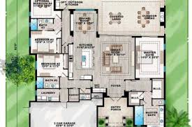 house plans with pools 11 mediterranean house plans pools mediterranean house plans with