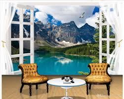 home decor living room natural art 3d windows picturesque