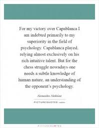 Vanity Psychology Chess Is A Matter Of Vanity Picture Quotes