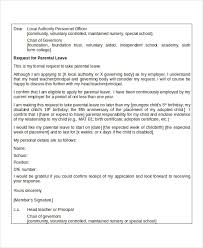 sample letter of leave of absence from work 100 cover letter