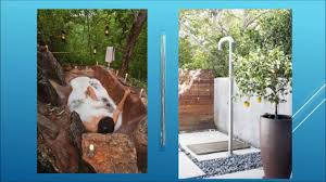 Outdoor Shower Pole by Outdoor Shower Design Ideas Youtube