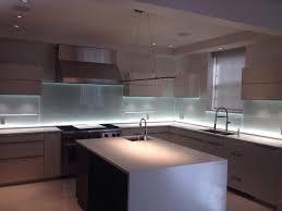 modern kitchen backsplash glass kitchen backsplash w led lighting modern kitchen