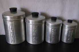 metal kitchen canisters vintage copper metal kitchen canister