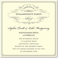 engagement invitation template incredible engagement party