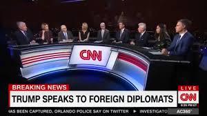 does cnn u0027s u0027last supper u0027 sized inauguration anchor desk