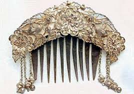 antique hair combs memories and collections barbaraanne s hair comb