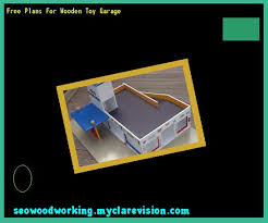 build wooden toy garage 152430 woodworking plans and projects