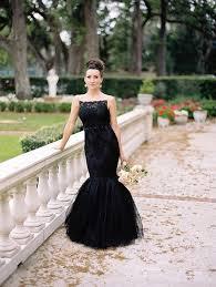 black wedding dresses 25 refined black wedding dresses to stand out weddingomania