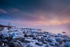 brighton beach sea smoke