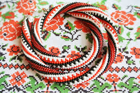 bead crochet pattern for beading necklace