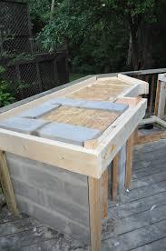 kitchen wonderful outdoor kitchen cinder block frame with granite