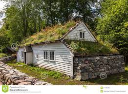 old norwegian house stock photo image 57160592