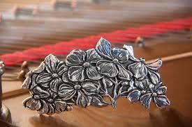 barrette hair clip hair clip barrette hair accessory dogwood 80mm oberon design