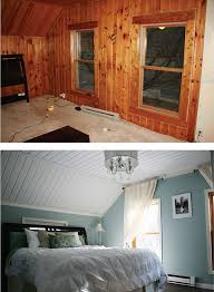 how to paint over wood paneling a quick solution for wood paneling add paint