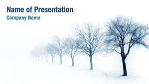 winter trees powerpoint templates winter trees powerpointwinter