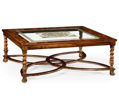 furniture luxury antique stained square coffee table design
