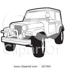 safari jeep front clipart black jeep clipart