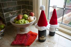 santa wine toppers le u0027s craft with modernmom 12 days of