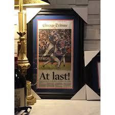 Chicago Tribune News Desk Chicago Tribune Nov 3 2016 Original Framed Full Newspaper At