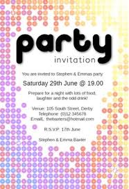printable party invitations sparkling party free printable party invitation template